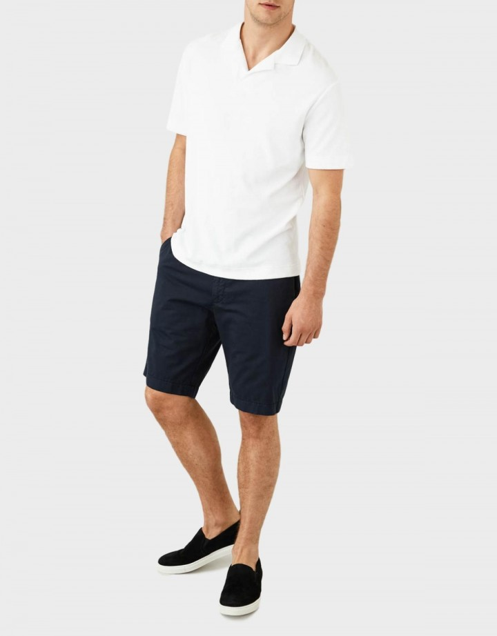 Short Sleeve Terry Polo