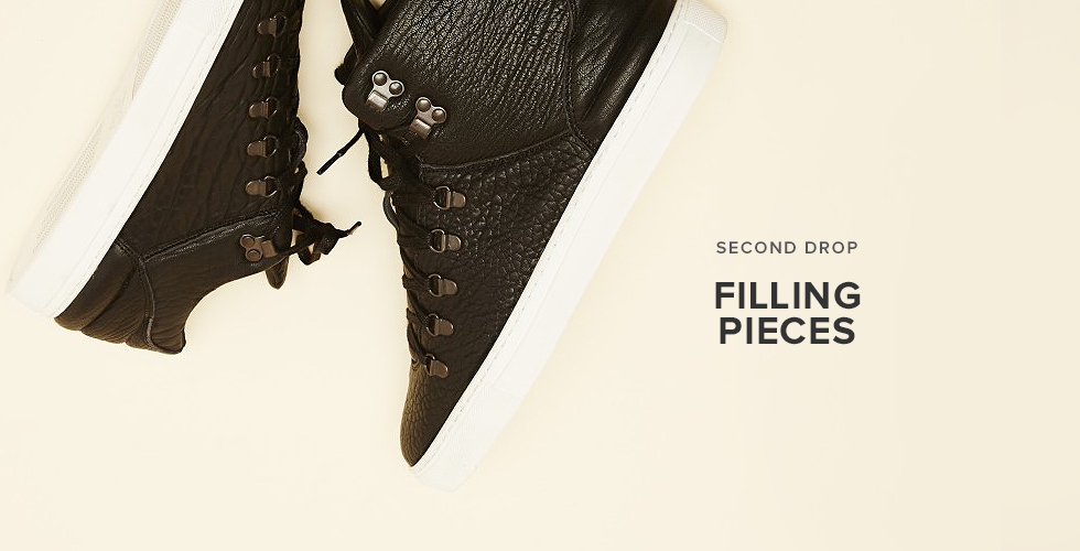 Filling Pieces 2nd Drop