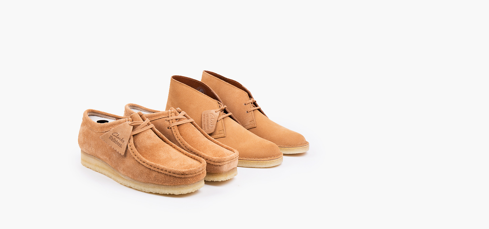 Butterscotch and Fudge with Clarks Originals