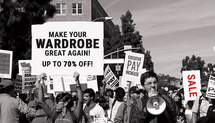 SALE: Make your wardrobe great again!