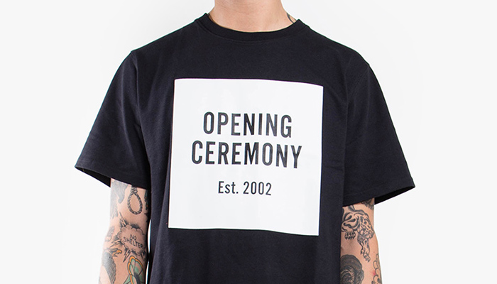 New York's very own Opening Ceremony
