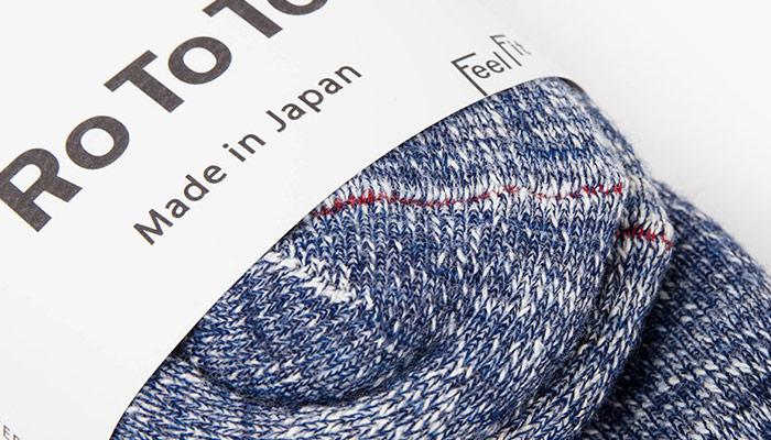 Introducing Japanese sock brand RoToTo