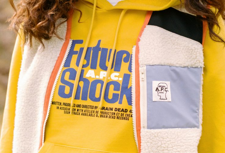 It's shock, future shock: A.P.C. x Brain Dead